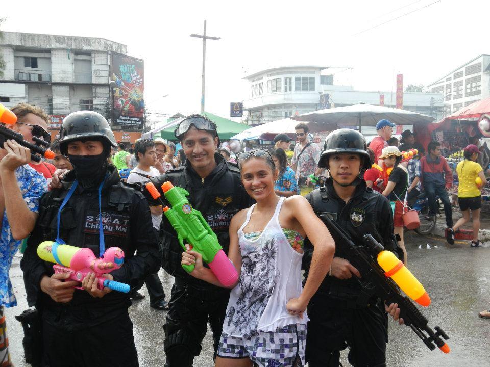songkran swat